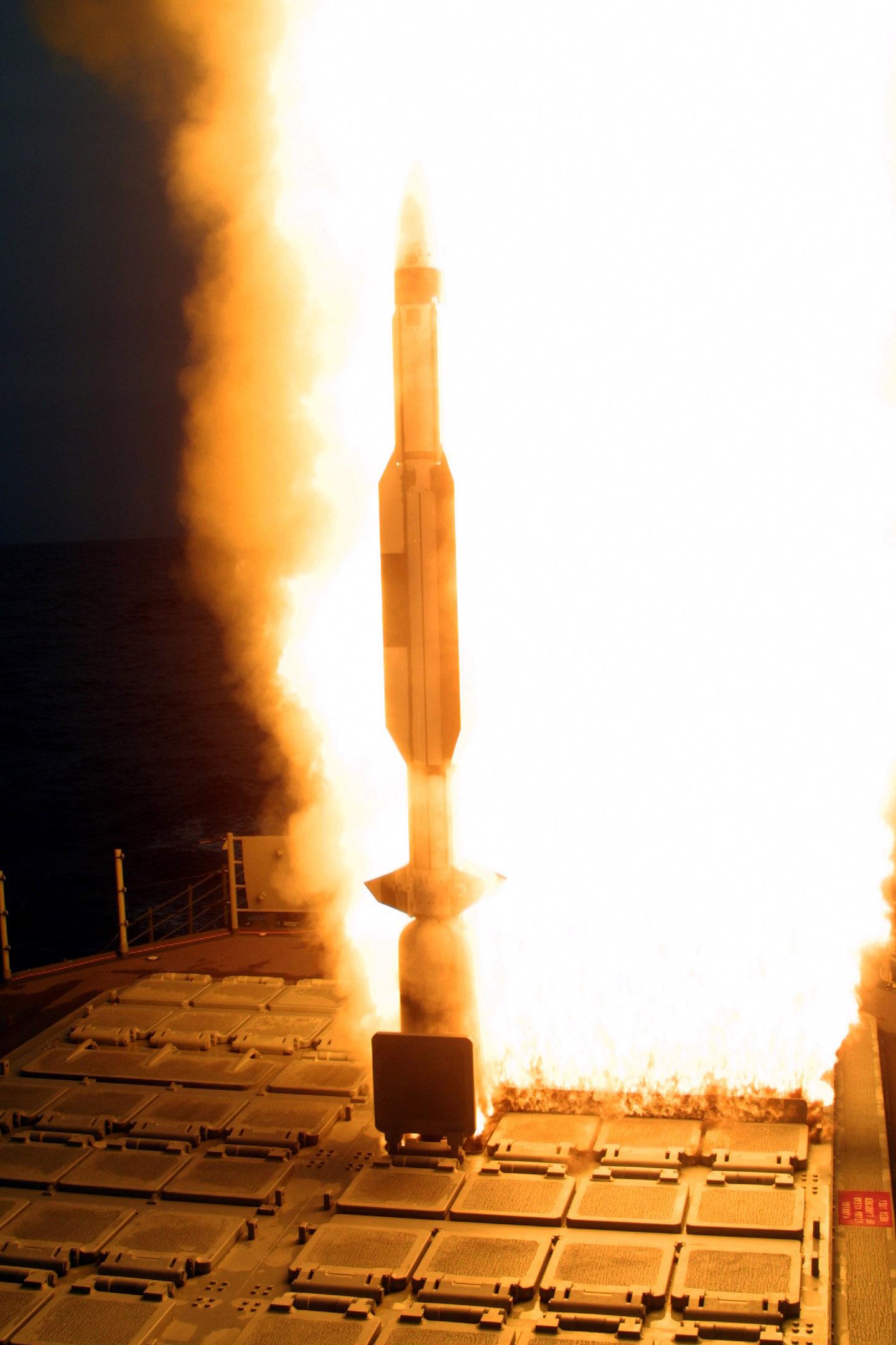 Запуск SM-3