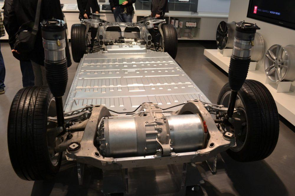 Части Tesla Model S