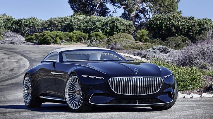 Концепт электромобиля от Mercedes-Benz
