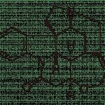 Молекула стрихнина