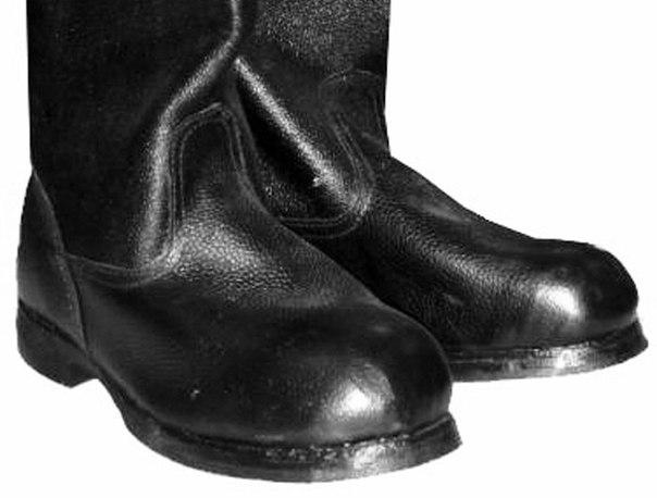 Носки кирзовых сапог