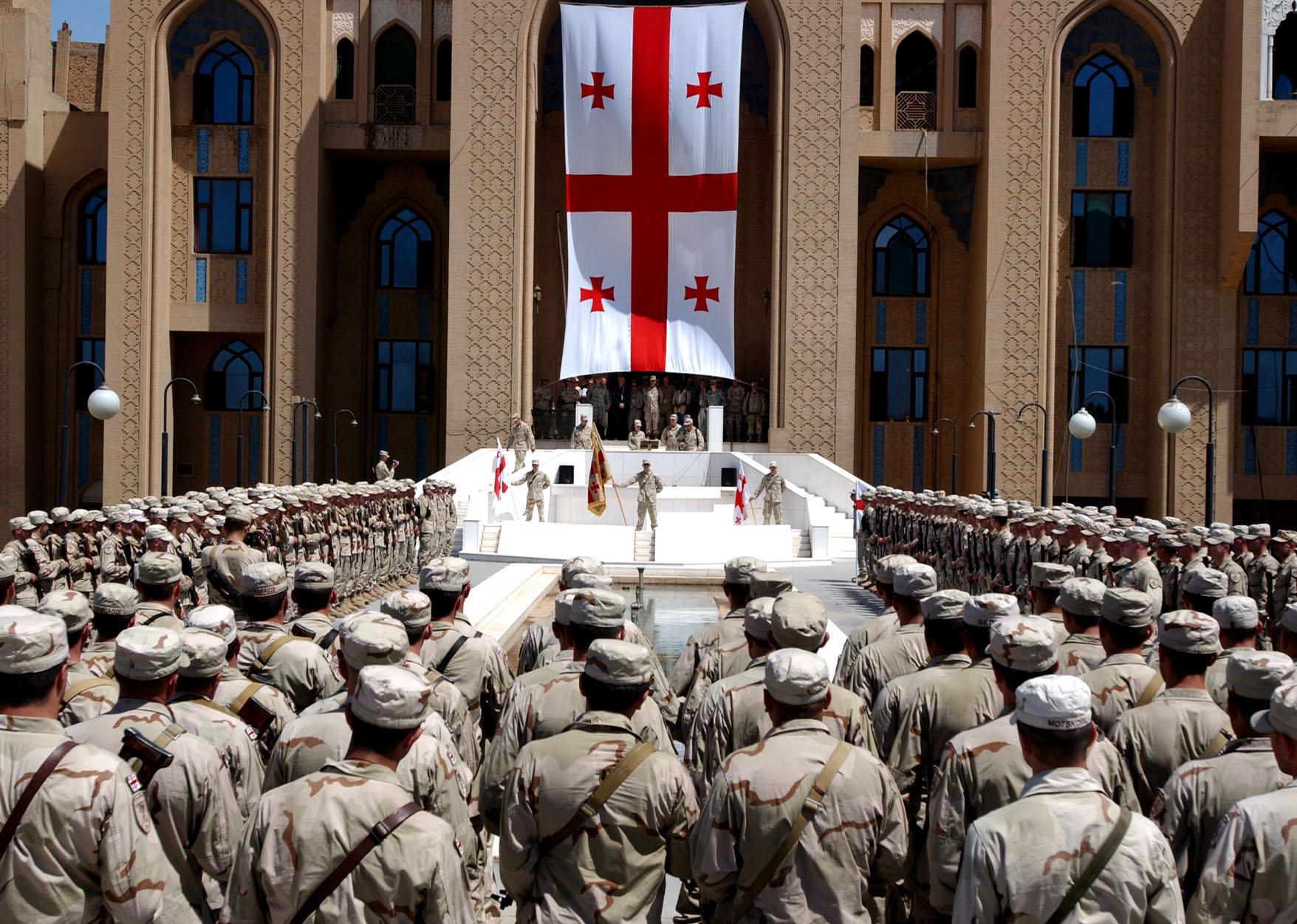 Празднование Дня независимости Грузии
