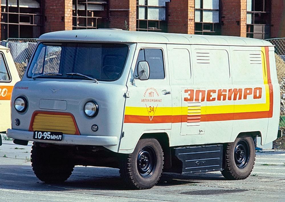 Советский электрокар