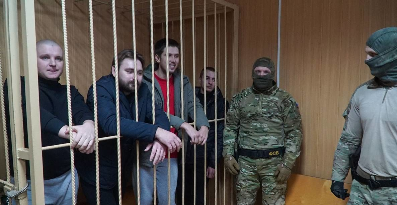Задержанные моряки
