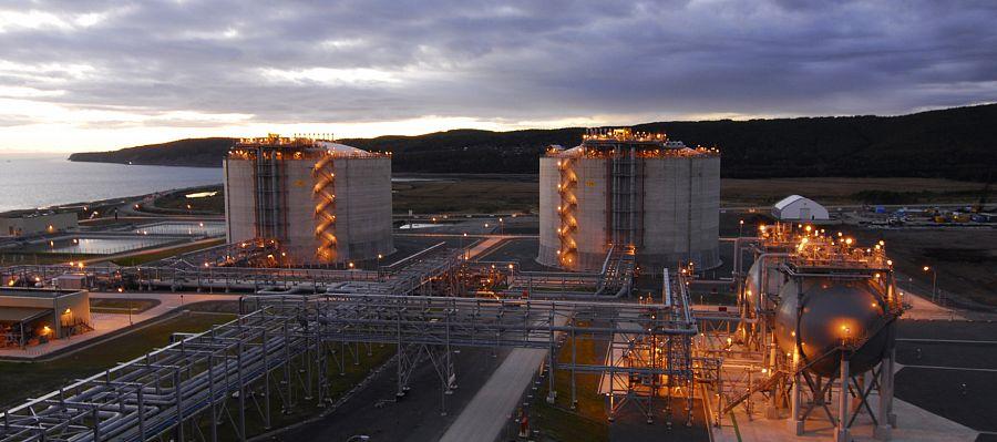 Добыча нефти на Сахалине
