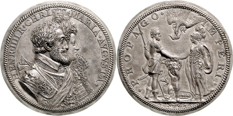 Фальшивая монета Генриха IV