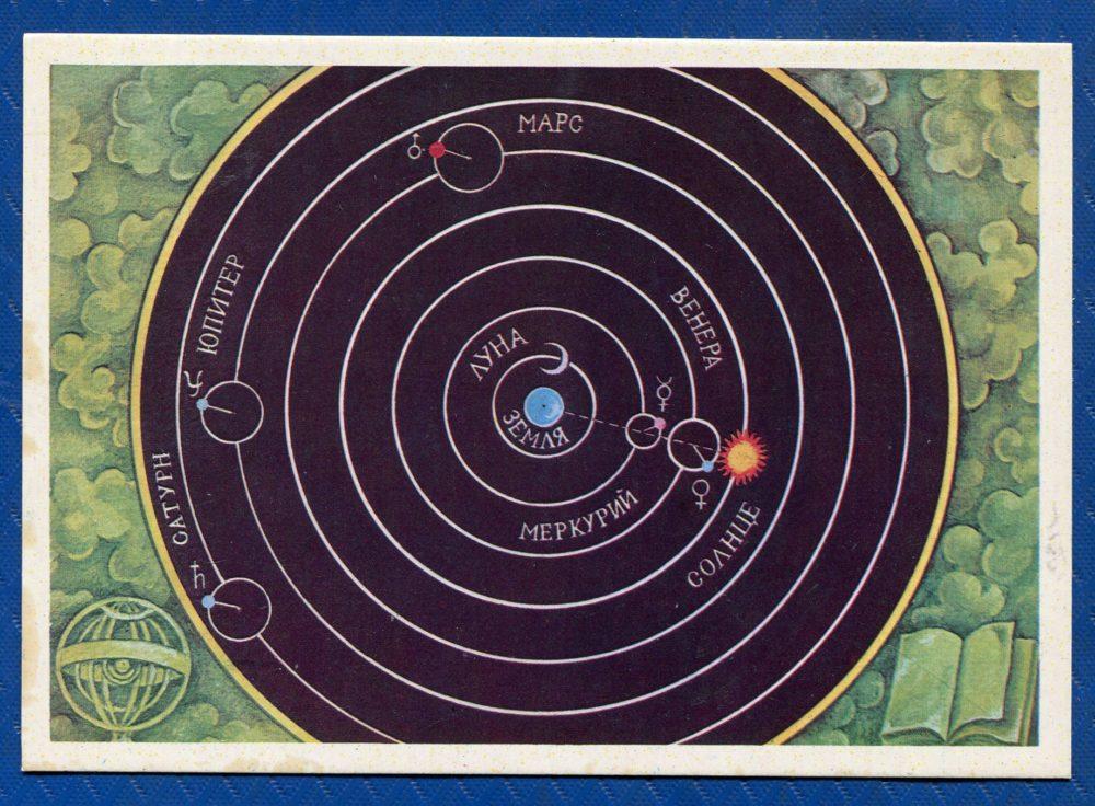 Геоцентрическая модель Птолемея