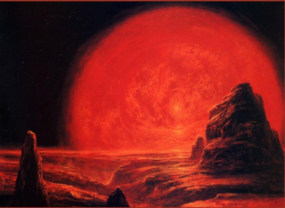 Превращение Солнца в красный гигант