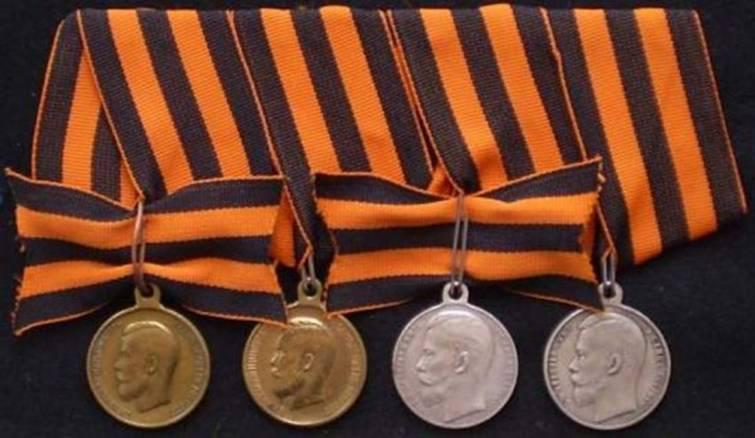 Степени Георгиевской медали