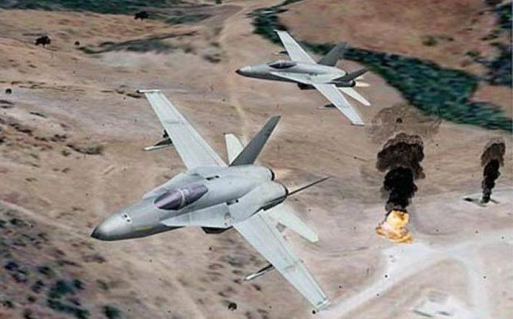 Авиация РФ против ИГИЛ