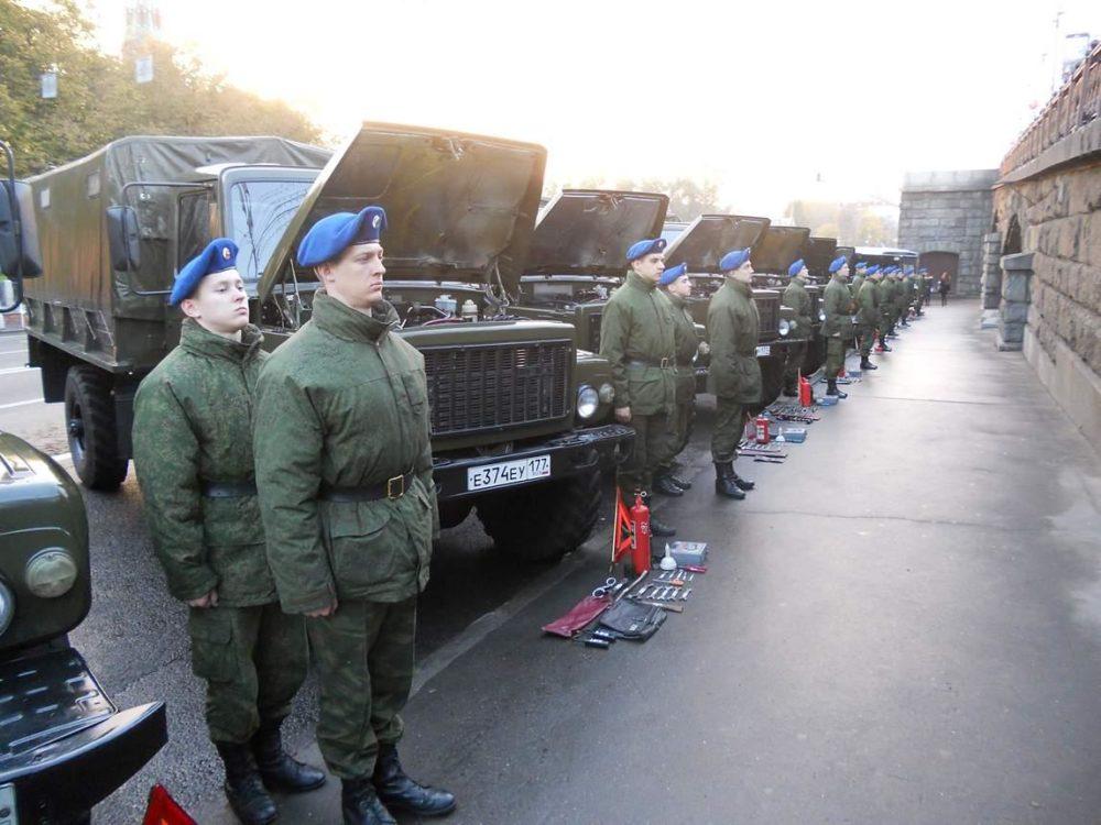 Автомобильная рота Президентского полка