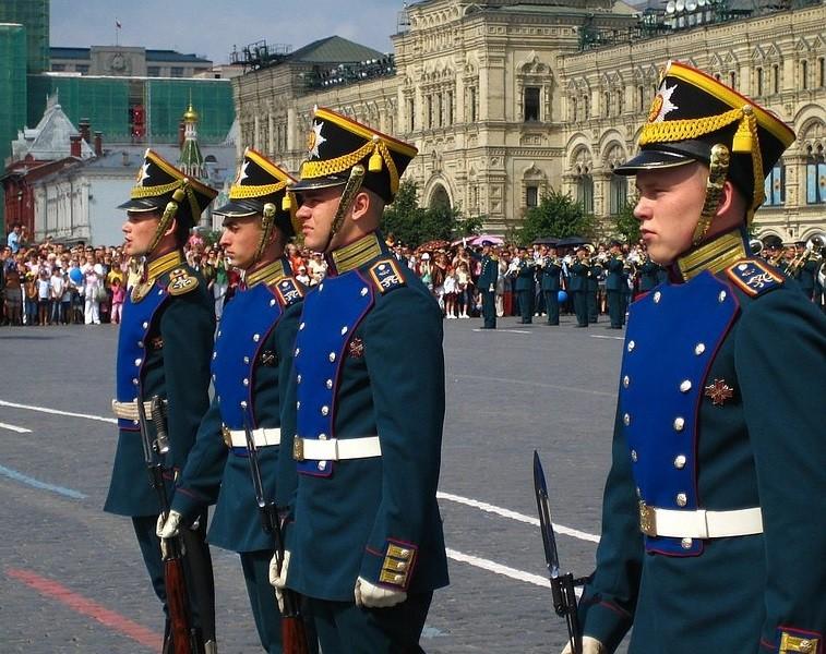 Церемониальная форма Президентского полка