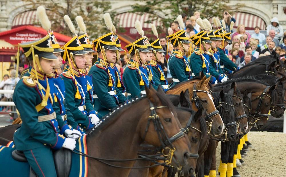 Кавалерийский эскорт Президентского полка