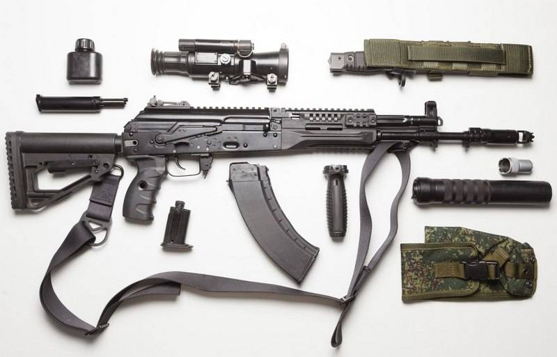 Комплектация АК-12