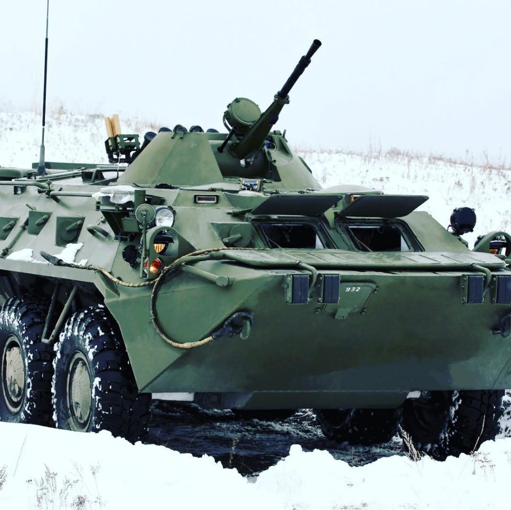 КПВТ на танке