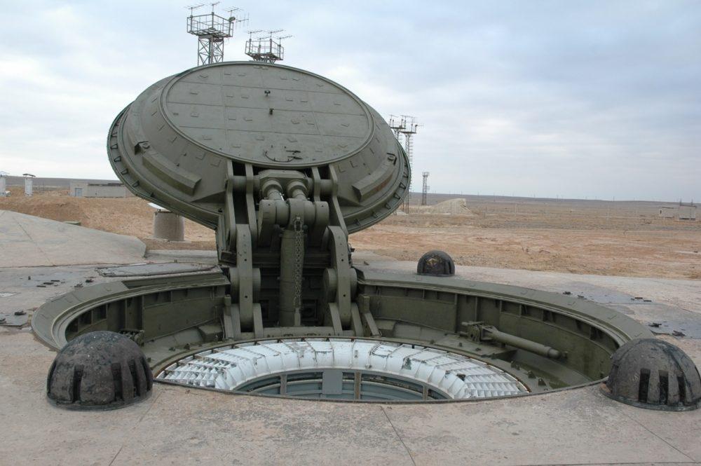 Крышка ракетной шахты