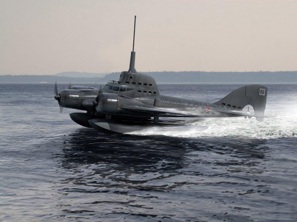 Летающая субмарина Ушакова