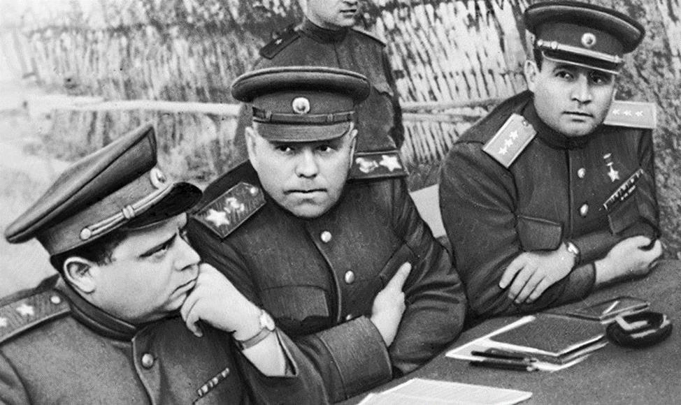 Макаров, Василевский и Черняховский