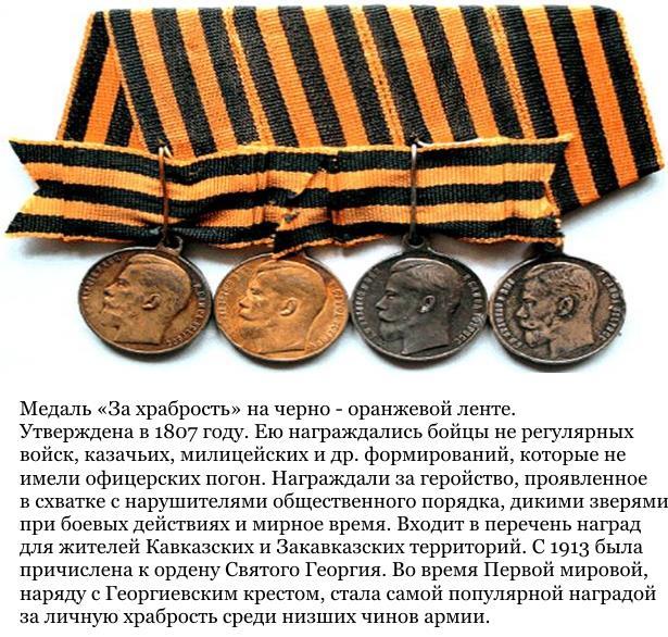 """Медаль """"За храбрость"""""""