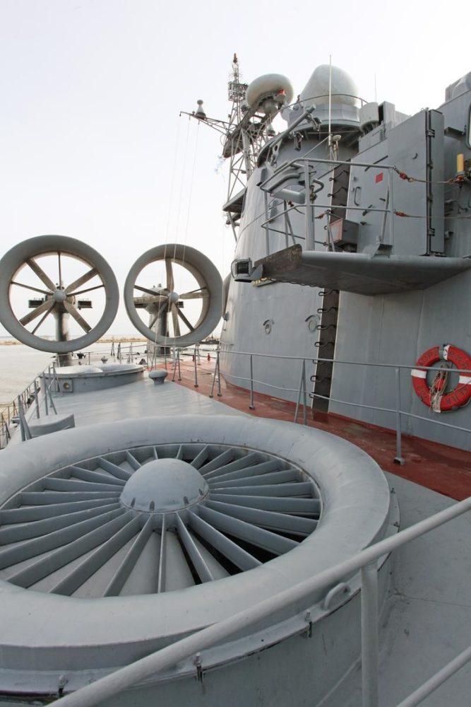 На палубе «Зубра»