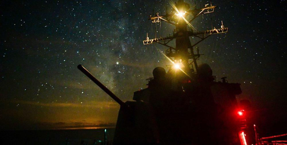 Пучковое оружие на кораблях