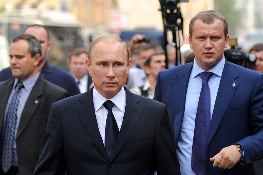 Путин и Морозов