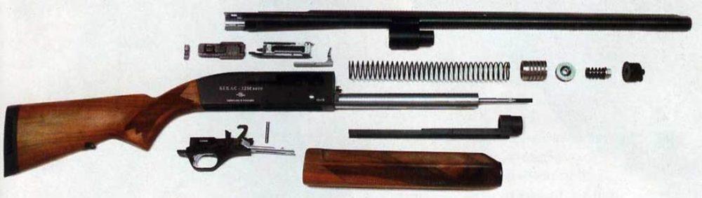 Разобранный Бекас-12М