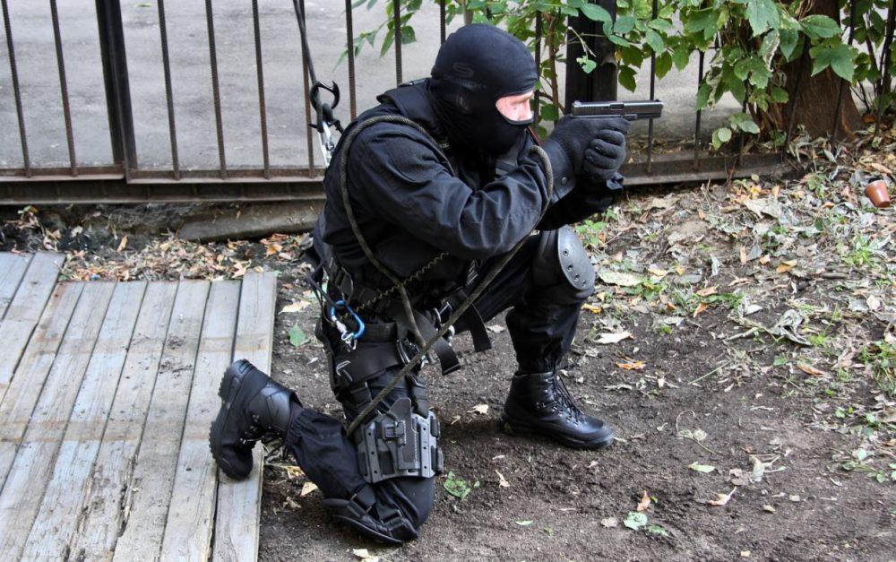 Спецназовец с Glock