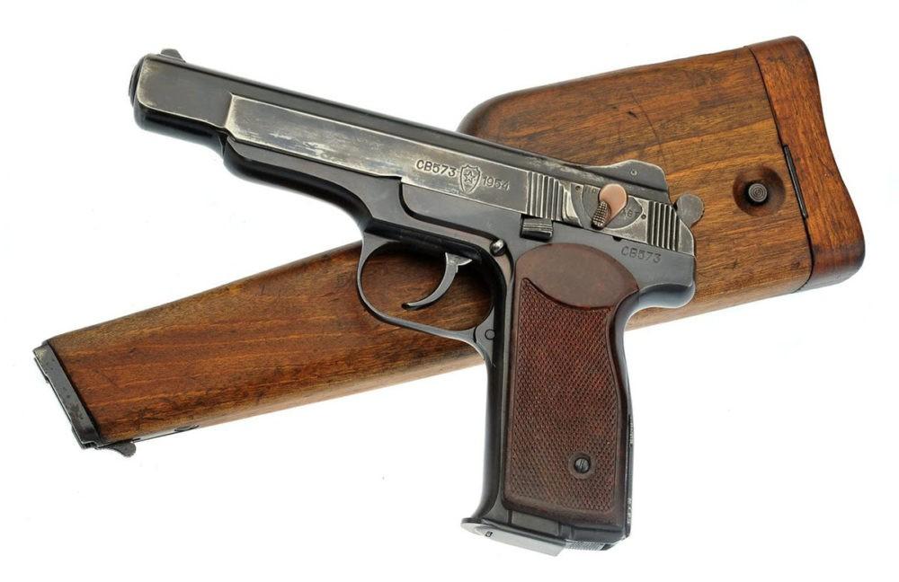 Топ-5 - пистолет Стечкина