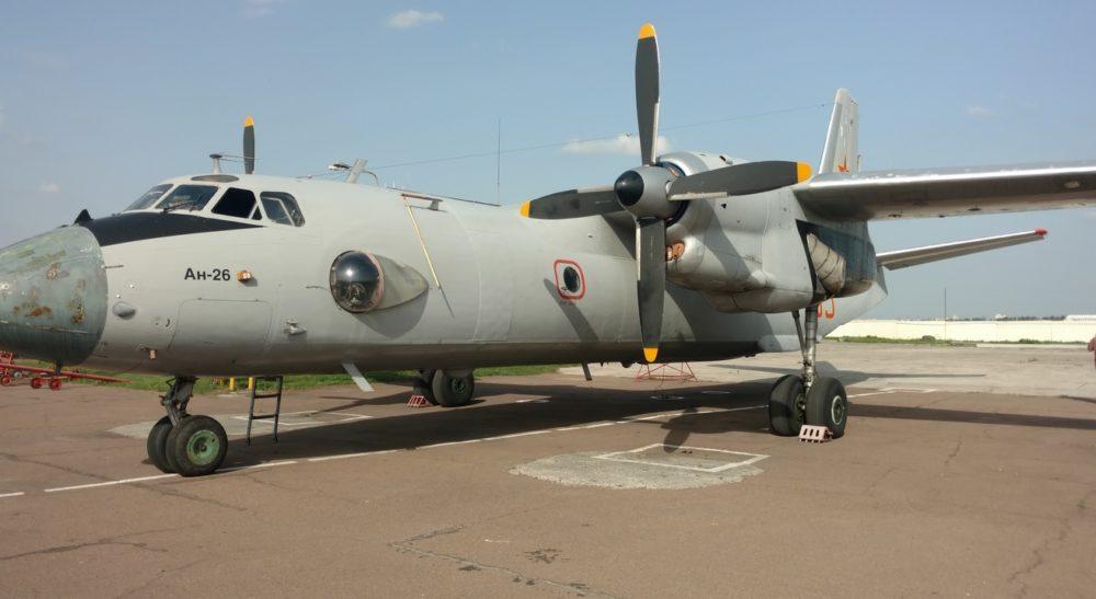 Ан-26 на стоянке