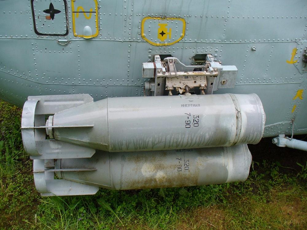 Авиабомбы Ка-27