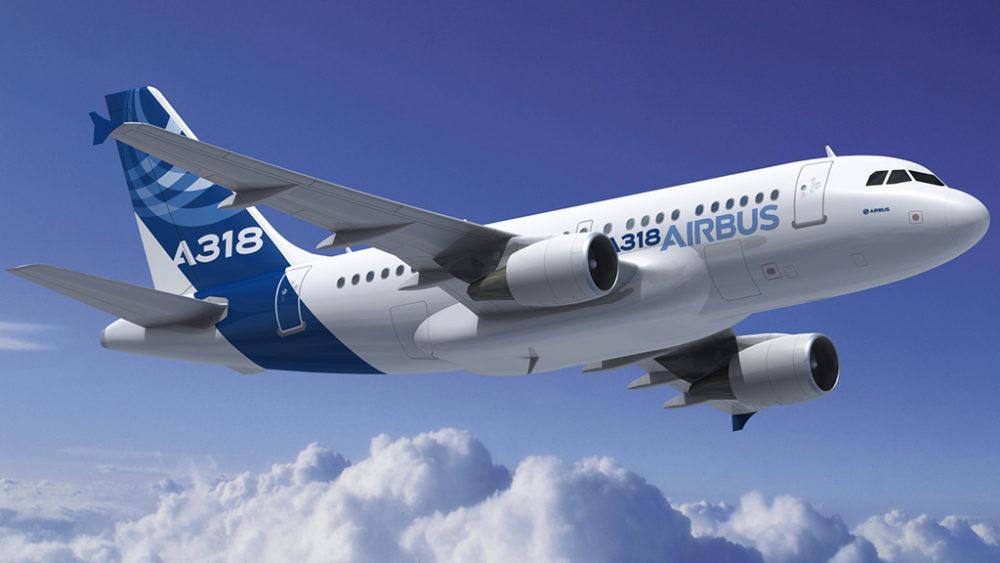 Авиалайнер Airbus A318