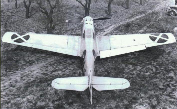 Bf.109B из легиона «Кондор»