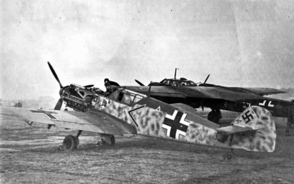 Bf.109E и Do 17