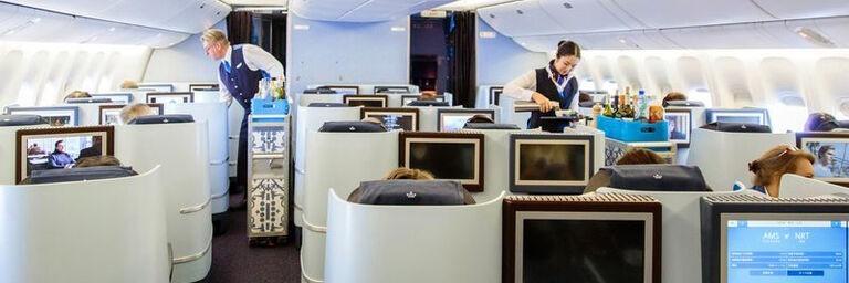Бизнес-класс Боинг-747