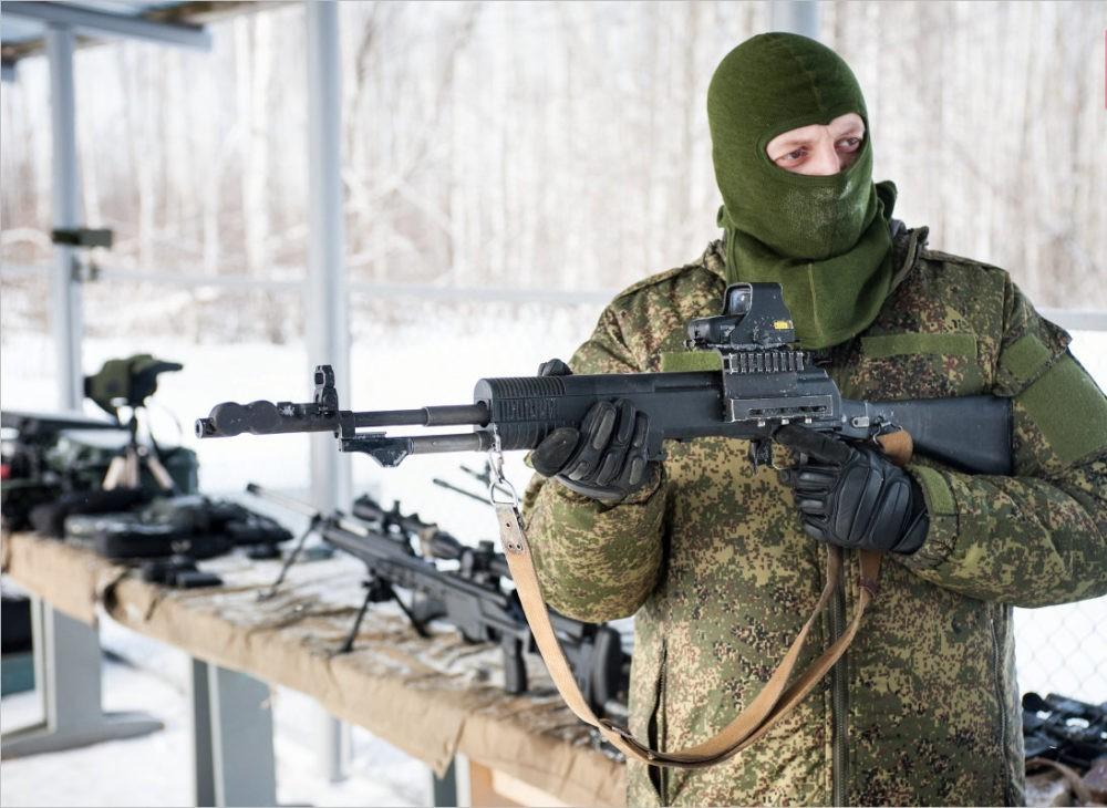 Боец с АН-94