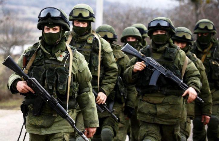 Боец в «Ратниках» в Крыму