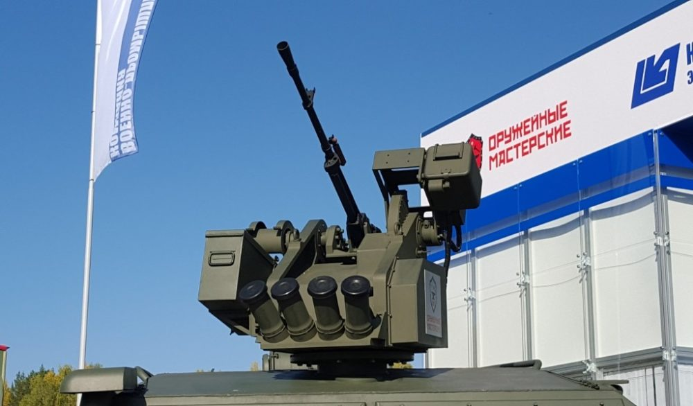 Боевой модуль «Тайфуна»