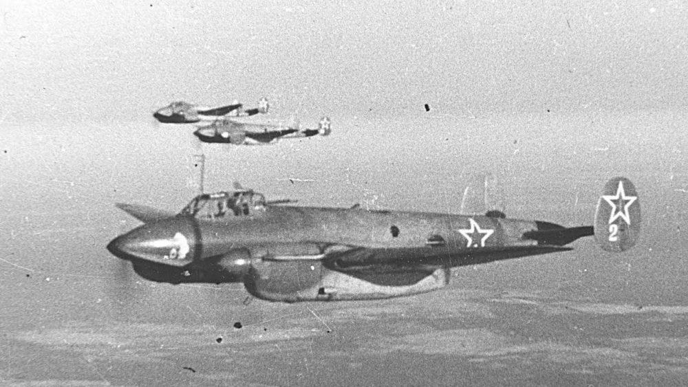 Боевой вылет Пе-2