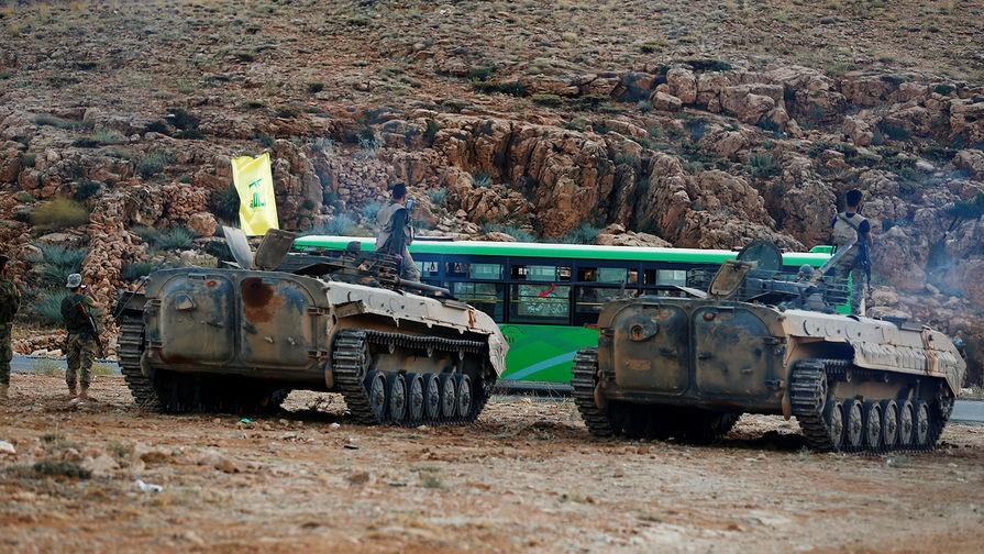 Боевые машины «Хезболлы»