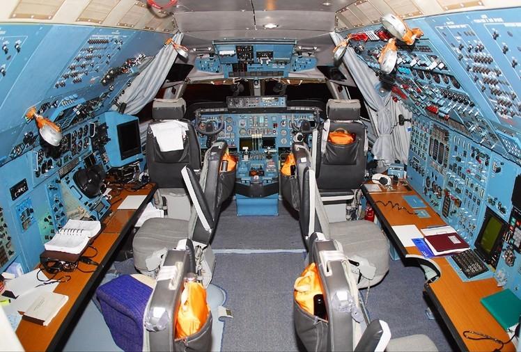Бортовое оборудование Ан-124