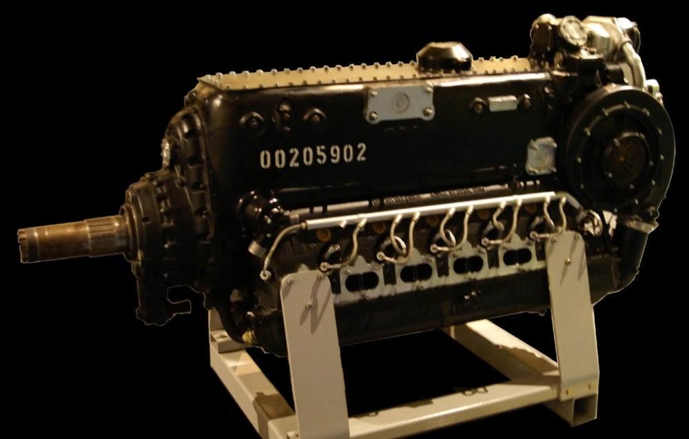 DB-605 – двигатель Bf.109