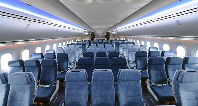 Эконом-класс Boeing 787