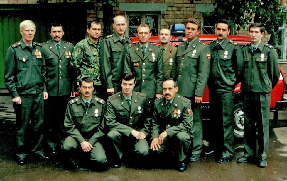 Форма милиции, 1999 год