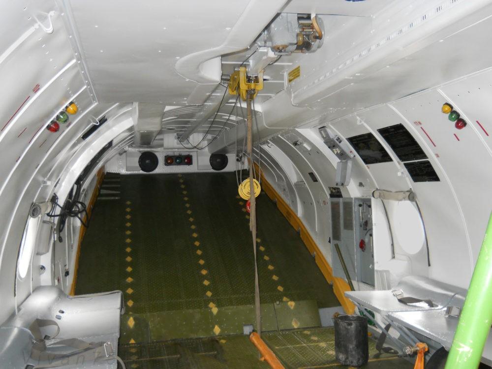 Грузовая кабина Ан-26