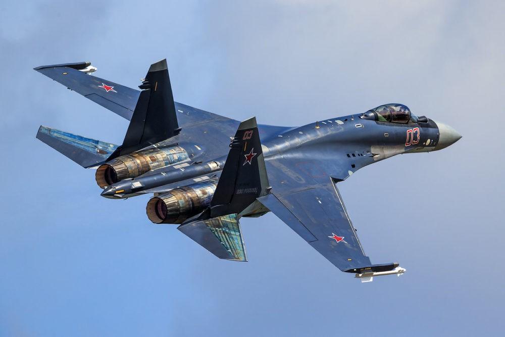 Хвост Су-35
