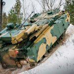 Испытания БМП «Курганец-25»