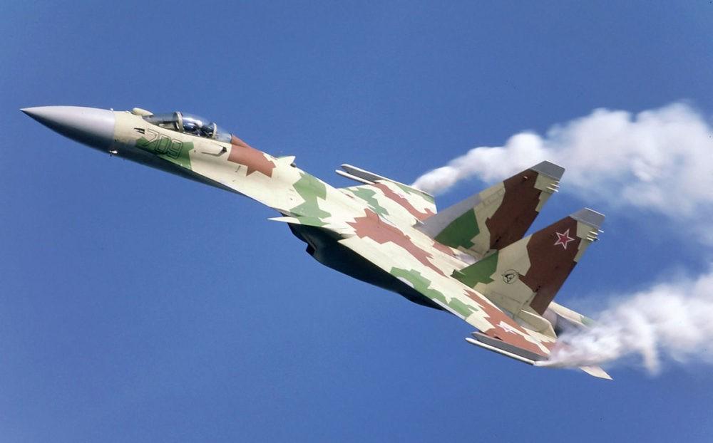 Истребитель Су-27М