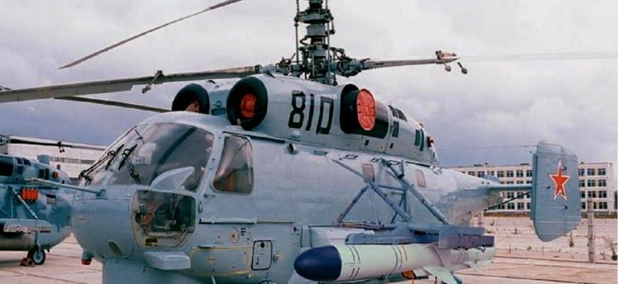 Ка-27М с ракетой Х-35