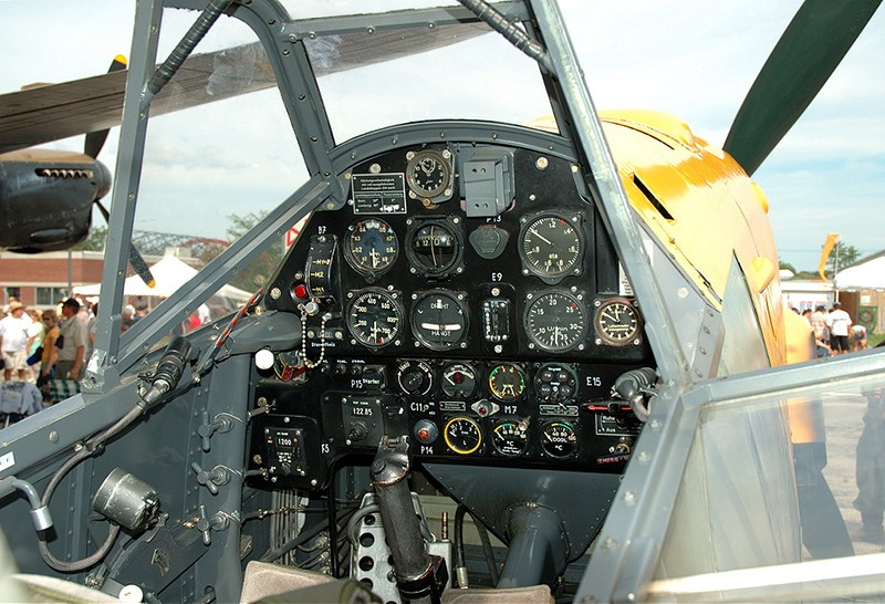 Кабина Bf.109
